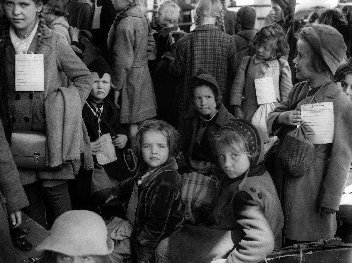 Em cada viagem entre Viena e Lisboa, que demorava uma semana, eram transportadas centenas de crianças