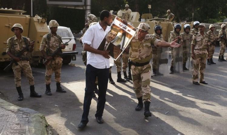 Golpe militar no Egipto