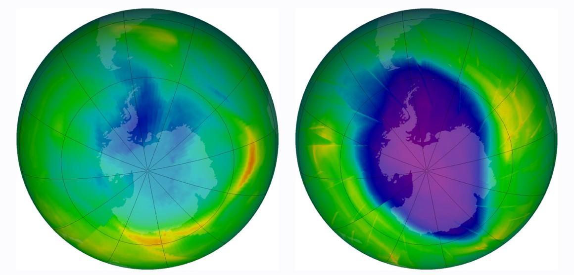 Cientistas identificam novos gases que destroem o ozono